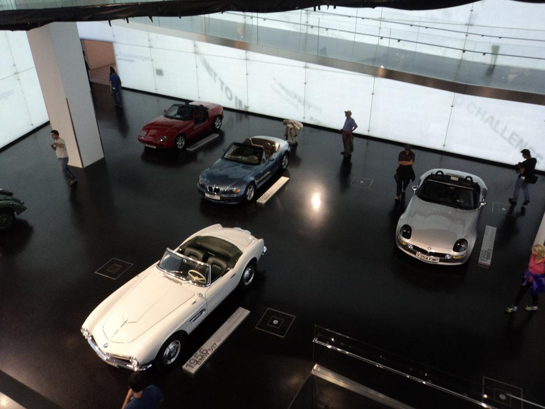 BMW Welt museum i München 2015 billede 424