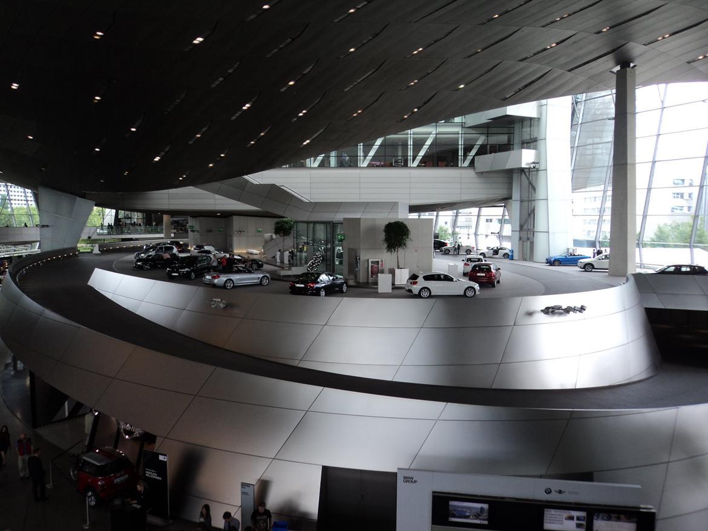 BMW Welt museum i München 2015 billede 425