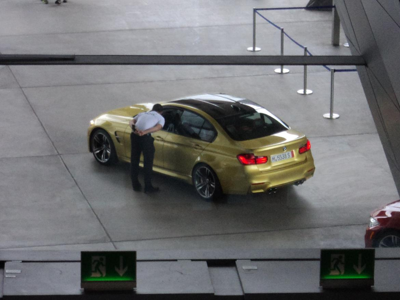 BMW Welt museum i München 2015 billede 426