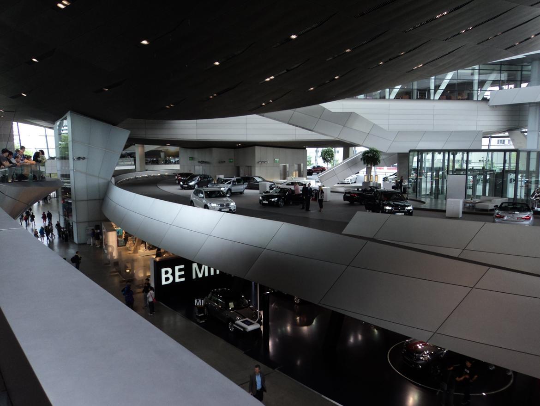 BMW Welt museum i München 2015 billede 427