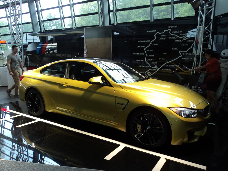 BMW Welt museum i München 2015 billede 435