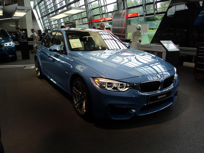 BMW Welt museum i München 2015 billede 436