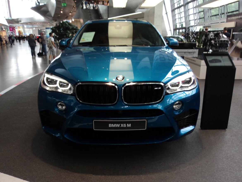 BMW Welt museum i München 2015 billede 441