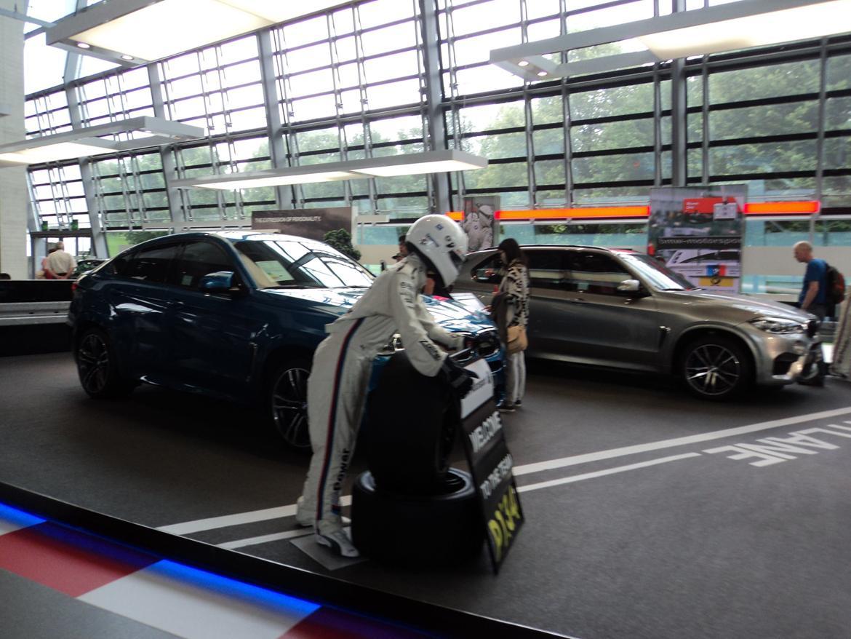 BMW Welt museum i München 2015 billede 448