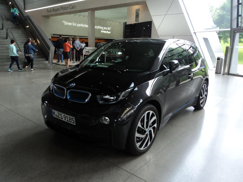 BMW Welt museum i München 2015 billede 450