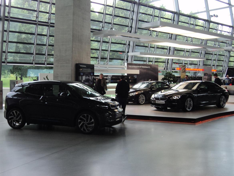 BMW Welt museum i München 2015 billede 460