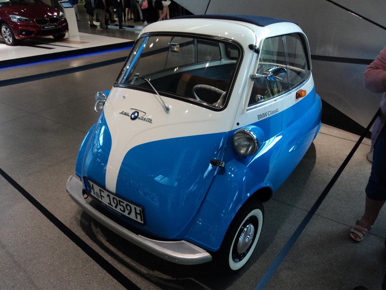 BMW Welt museum i München 2015 billede 461