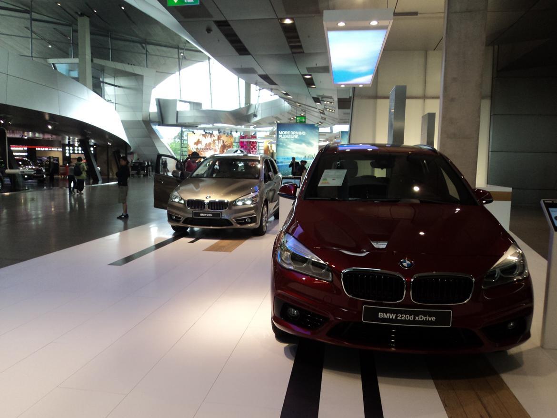 BMW Welt museum i München 2015 billede 464