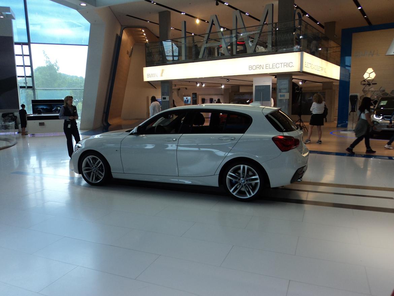 BMW Welt museum i München 2015 billede 467