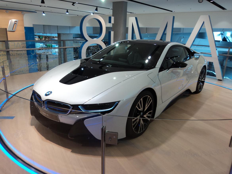 BMW Welt museum i München 2015 billede 472