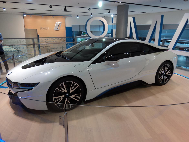BMW Welt museum i München 2015 billede 473
