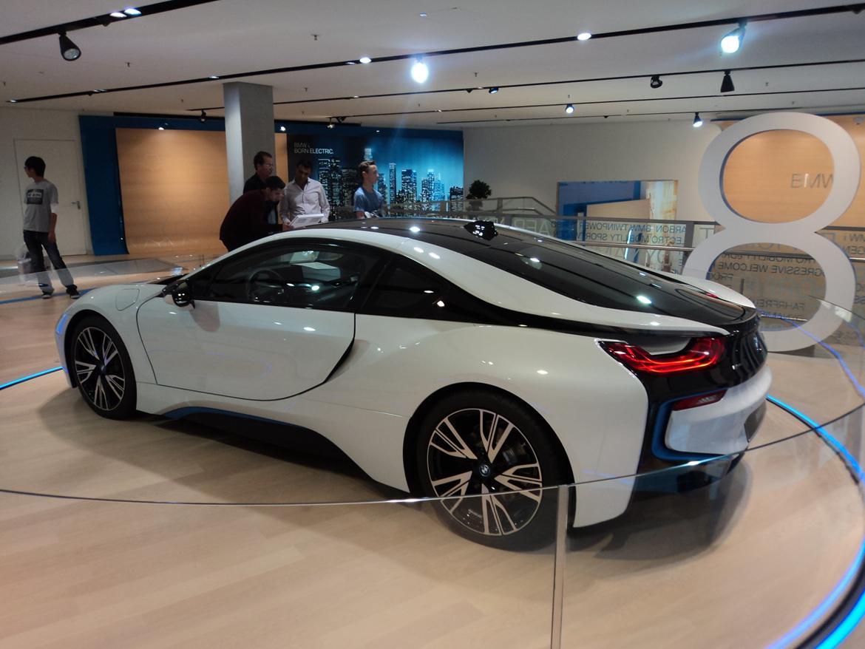 BMW Welt museum i München 2015 billede 475