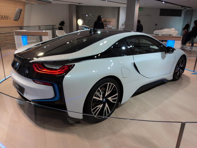 BMW Welt museum i München 2015 billede 482