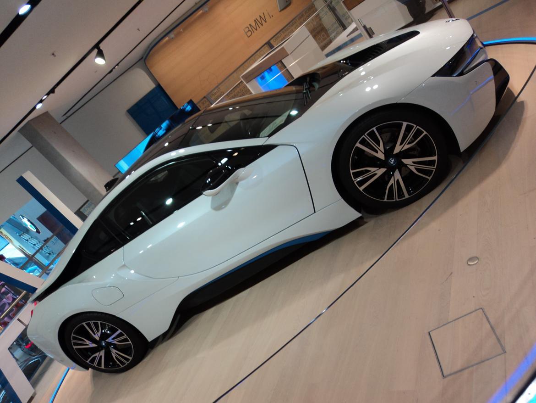 BMW Welt museum i München 2015 billede 485