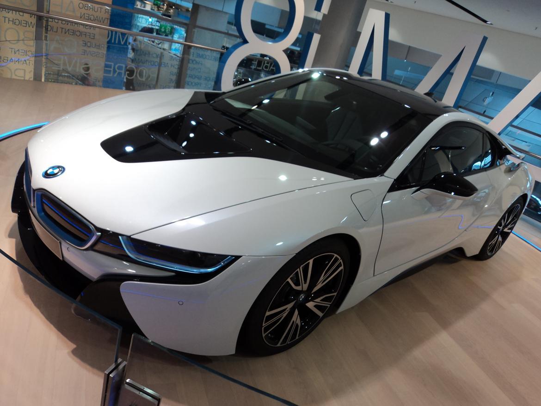 BMW Welt museum i München 2015 billede 488