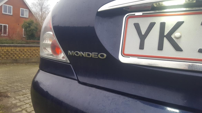 Mondeo mk2 fra start til nu - Mondeo MK3 logo billede 41