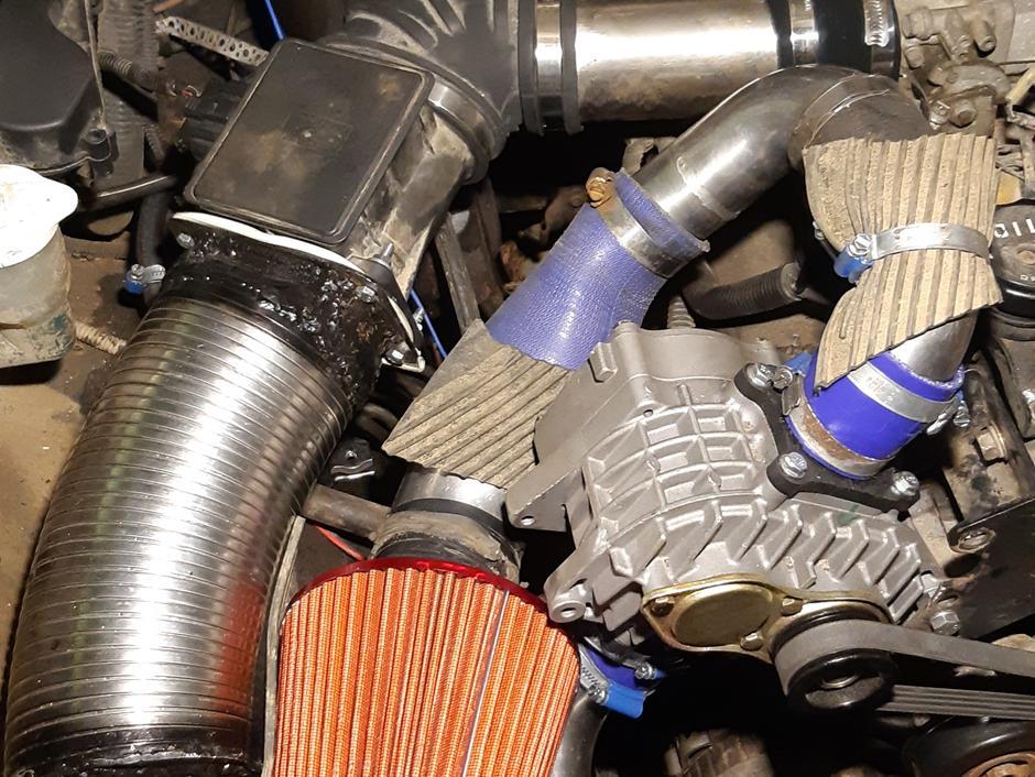 Pajero V6 Supercharged