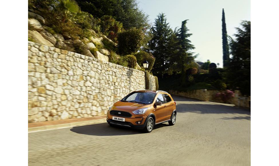 Ford Ka Active Er I Klasse Med Vw Up Cross Opel Karl Rock Og Den Kommende Kia Picanto X Line