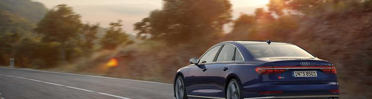 Audi S8 - 4-liter V8 og 571 hk!