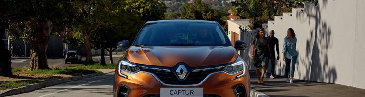 Renault Captur og BMW X6