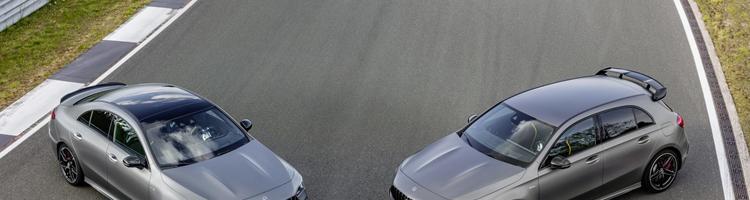 Mercedes A og CLA 45 AMG - 421 Hk fra en 2,0 Turbo!