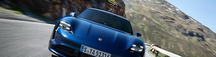 Porsche Taycan-Europas første modsvar til Tesla Model ...