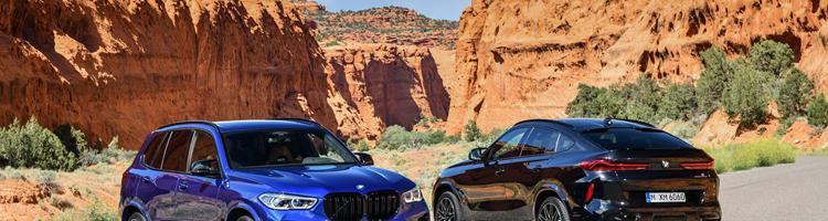 BMW X5M og BMW X6M- 625 Hk's SUV!