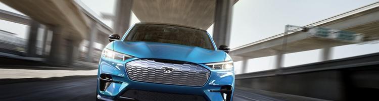 Elektrisk Ford Mustang og Mitsubishi Space Star