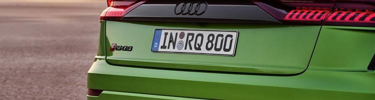 Audi RS Q8 600 Hk SUV og andre store nyheder