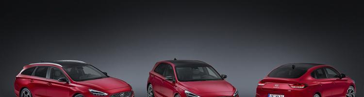 Hyundai i30 og Mercedes A45 421 hk!