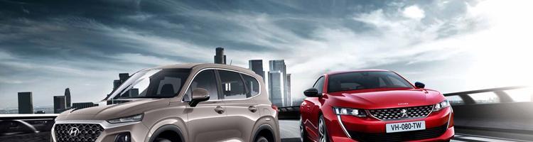 Pegeout 508 - topmodellen hos Peugeot og ny Santa Fe!