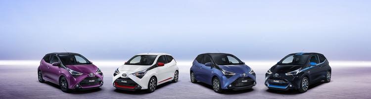 Toyota Aygo gør sig klar til 2018