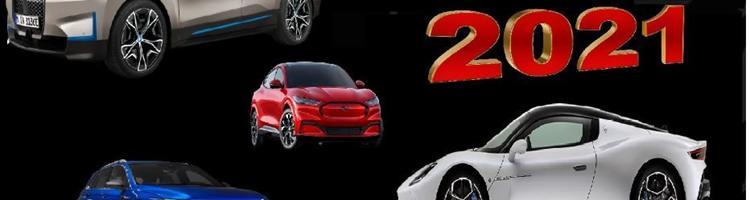 Bilerne vi kan forvente i 2021