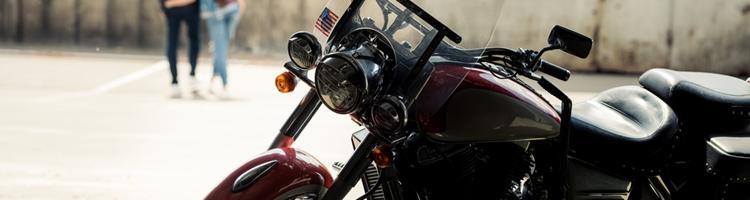 Vælg bilen fra og motorcyklen til