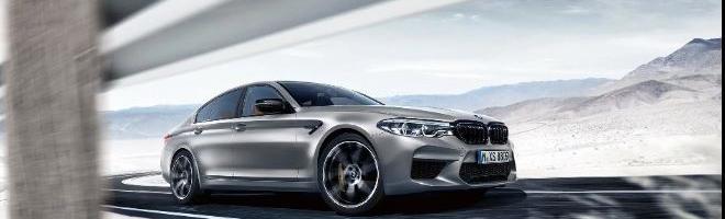 BMW M5 Competition - E-klasse AMG mareridt?