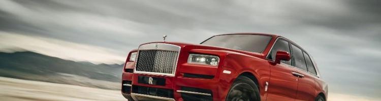Rolls Royce Cullinan - Mærkets første SUV