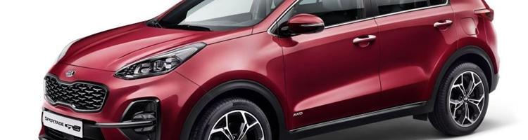 Kia Sportage 2019 - nu med ny diesel og Hybrid teknik