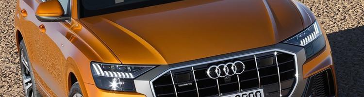 Audi Q8, audi's første Coupé-SUV og BMW X5