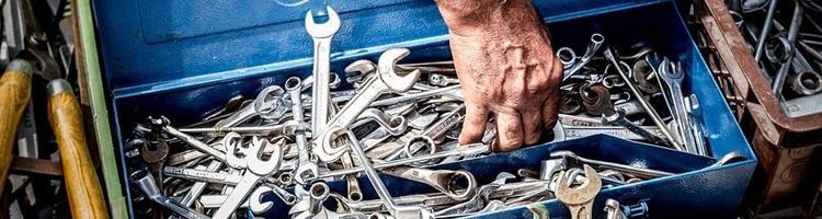 Sørg for at organisere dit værktøj ordentligt