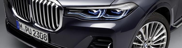 BMW X7, VW PASSAT og Porsche