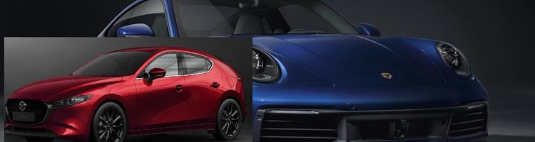 Porsche 911 992 og Mazda 3 er tilbage!
