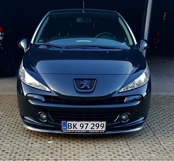 Fælge Peugeot 207 cc, max størrelse?