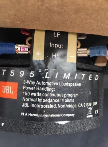 JBL t595 Limited Edition 6x9