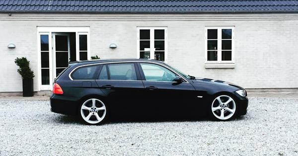 Ny undervogn på min BMW e91'er