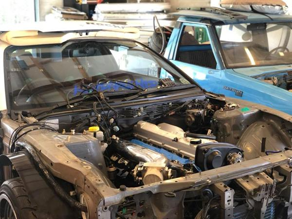 Silvia S15 RB25DET Swap