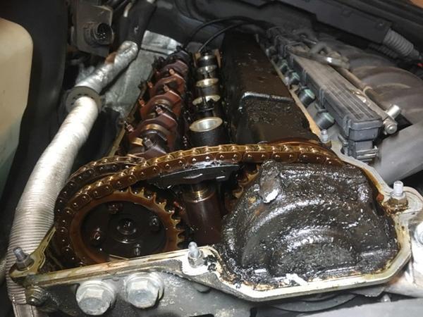 rense motor indvendig