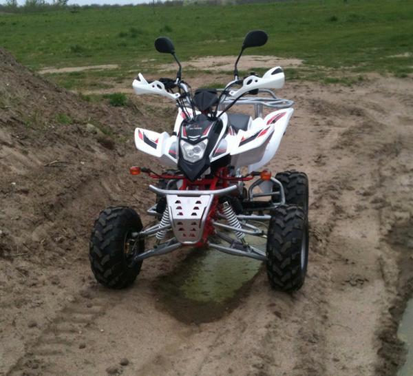 ATV kørsel på fyn
