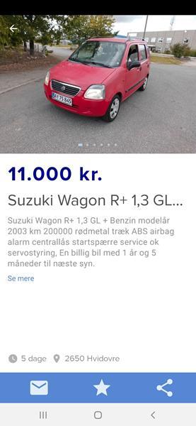 wagon r fra 2003, skal skal ikke?