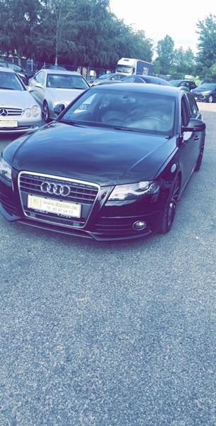 Audi A4 volume knap