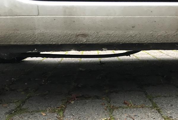 Skal dette repareres? Løftepunkt